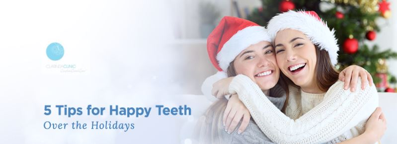 5 Tips For Healthy Teeth Over The Holidays